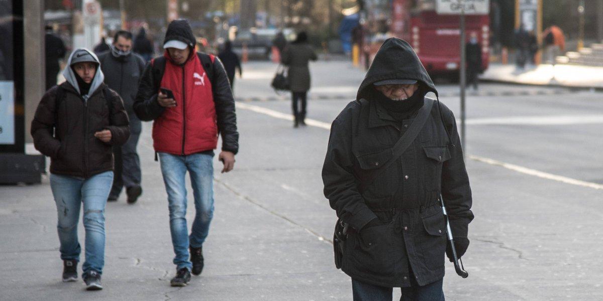 Frente frío 10 provocará lluvias y descenso de temperatura en el país
