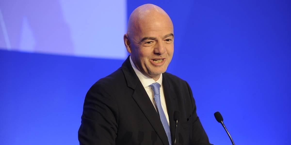 Presidente de FIFA propone Liga Mundial de las Naciones y Mundial de clubes femenino