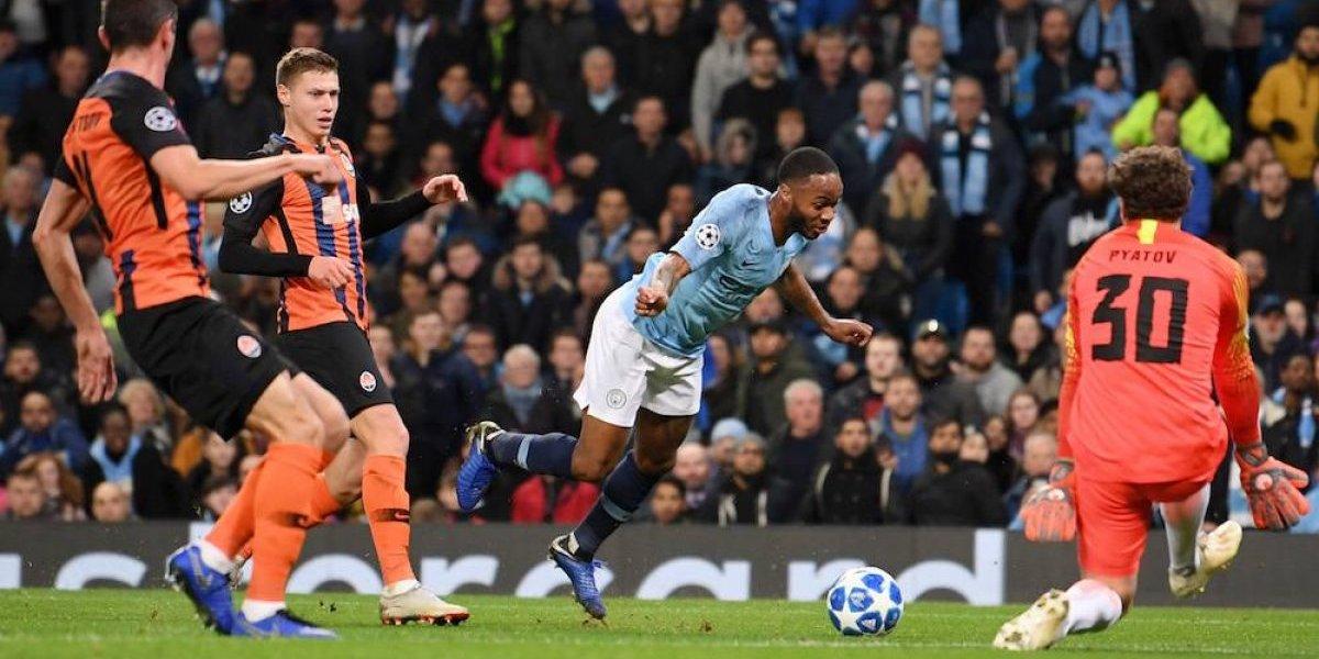 El insólito penal que le pitaron al Manchester City en Champions League