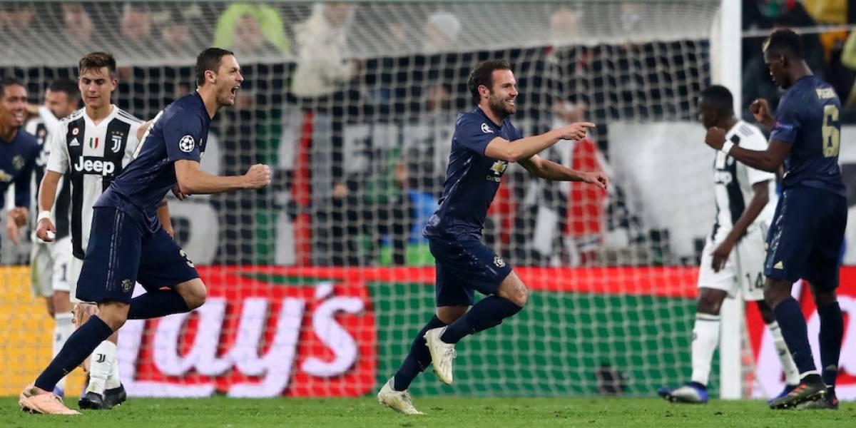 Manchester United gana en campo de la Juve con remontada