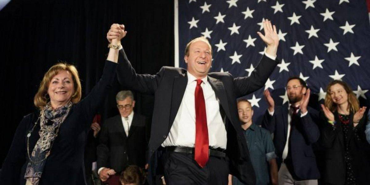 Demócrata de Colorado, Jared Polis, electo primer gobernador abiertamente gay en EE. UU.
