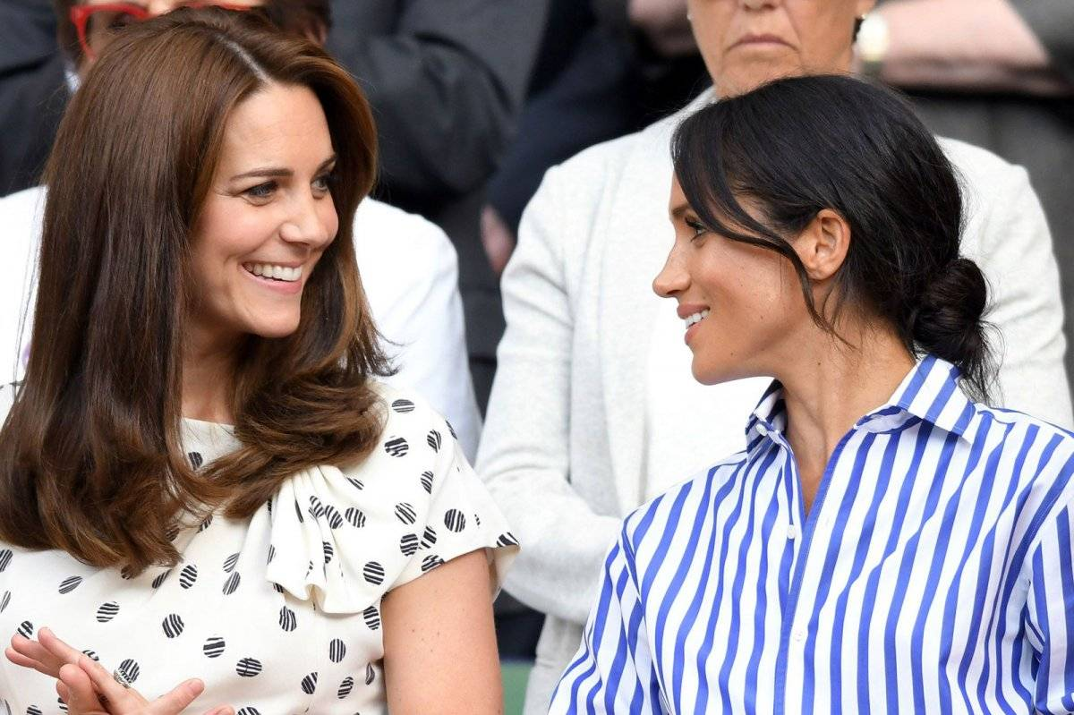 Meghan Markle con Kate Middleton