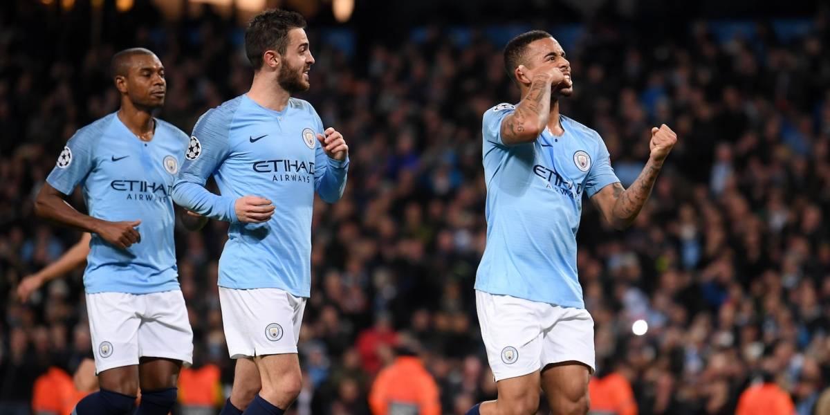 Manchester City apalea al Shakhtar 6-0 y califica a octavos de Champions