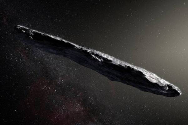 "Objeto interestelar ""Oumuamua"""