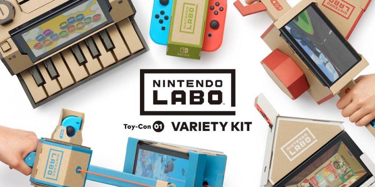 Nintendo Labo llega a México para sorprender a los usuarios de Switch