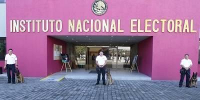 Jubilación perros del INE