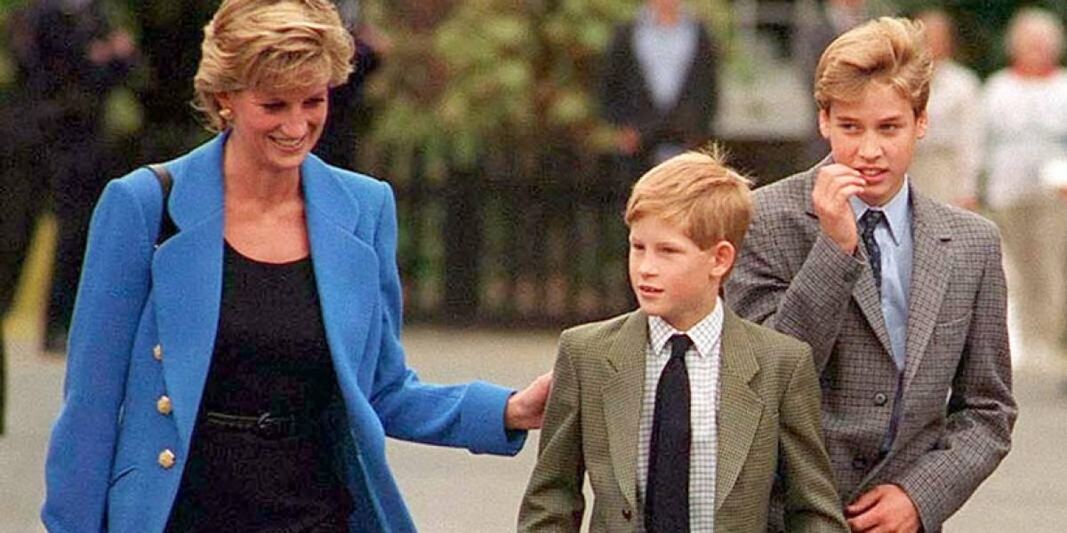 La furiosa llamada del príncipe William a la princesa Diana que le rompió el corazón en 1995