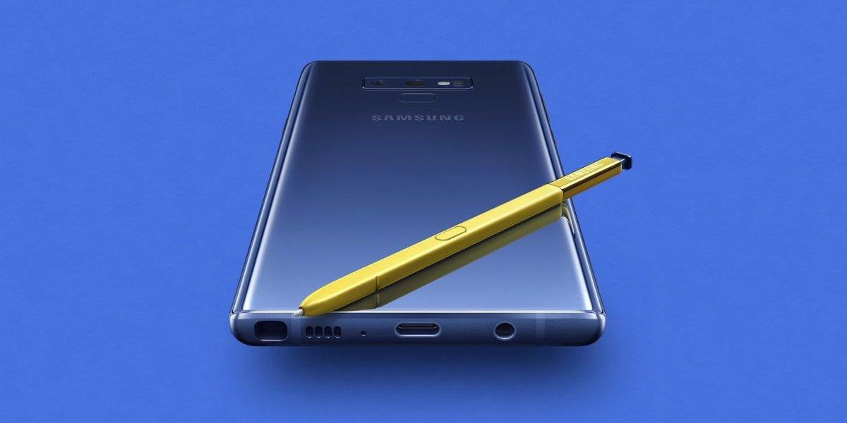 El Galaxy Note9 llama la atención de los profesionales del nuevo milenio