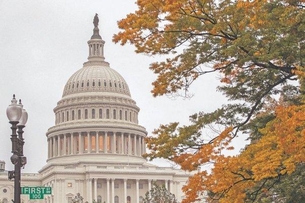 Las 435 bancas de la Cámara de Representantes, así como 53 del total de 100 en el Senado, fueron elegidas ayer. En la foto, el Capitolio de los Estados Unidos. ap