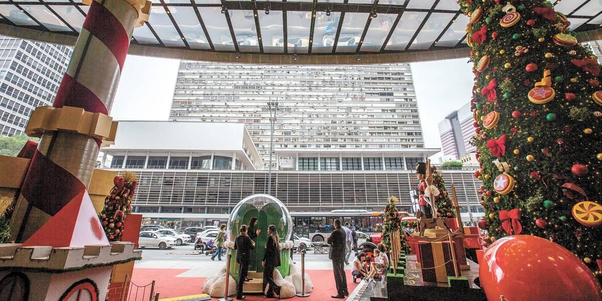 São Paulo já prepara o clima de Natal