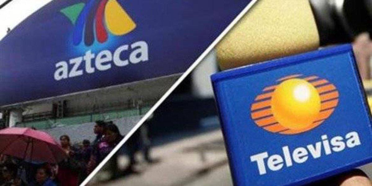 Revelan la millonaria cantidad que pagarán Televisa y Azteca para extender concesiones
