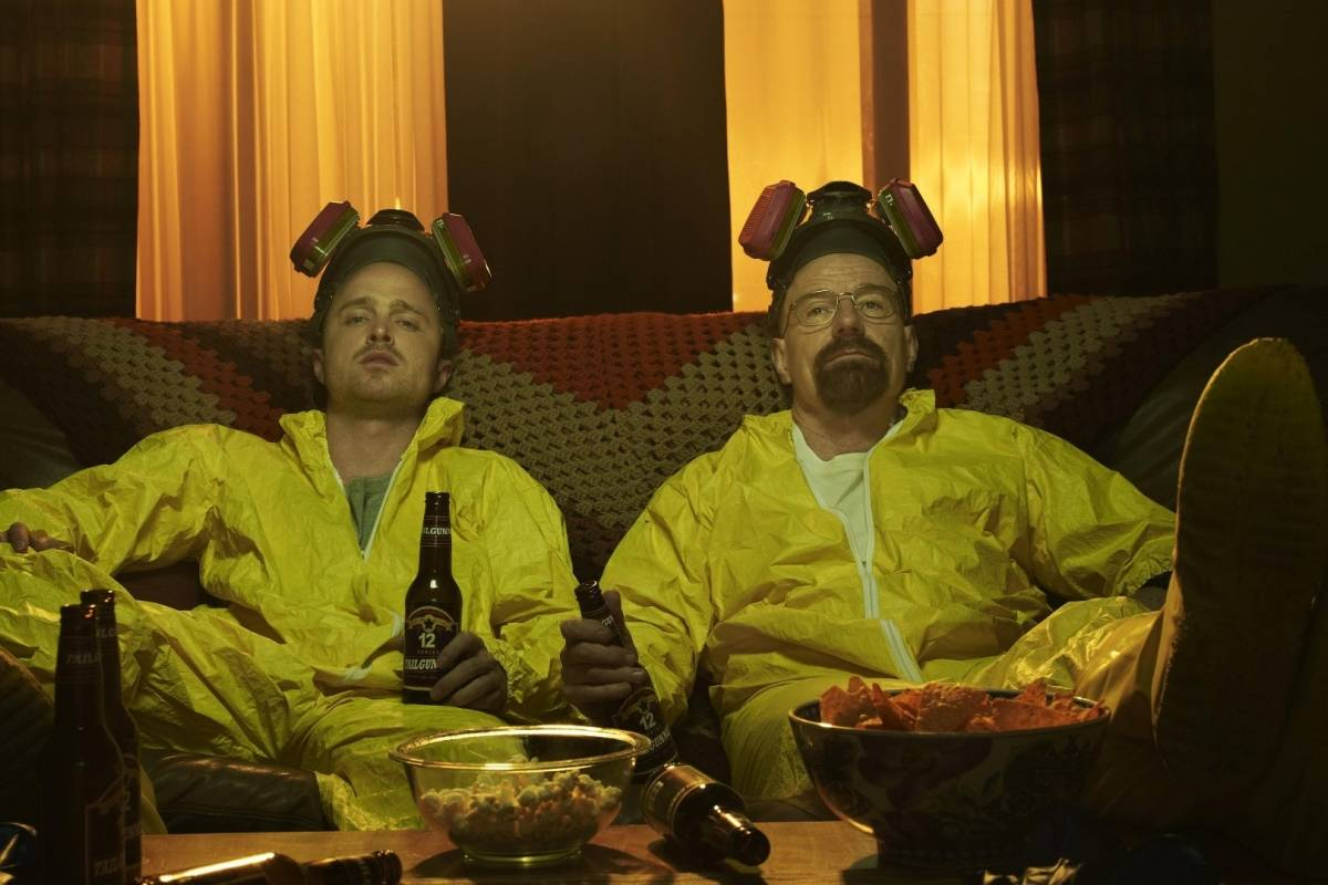 "breaking bad"" gives the result: maker of the series works in a film"