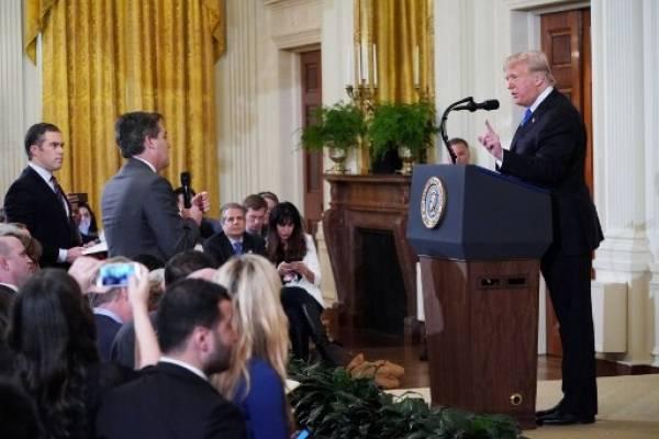 Altercado de Acosta con Trump