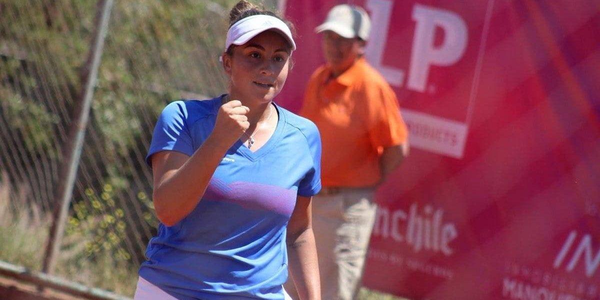 Bárbara Gatica se transformó en la gran sorpresa chilena en el ITF de Colina