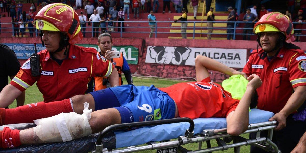 Sanarate se pronuncia sobre el accidente de José Martínez y su jugador