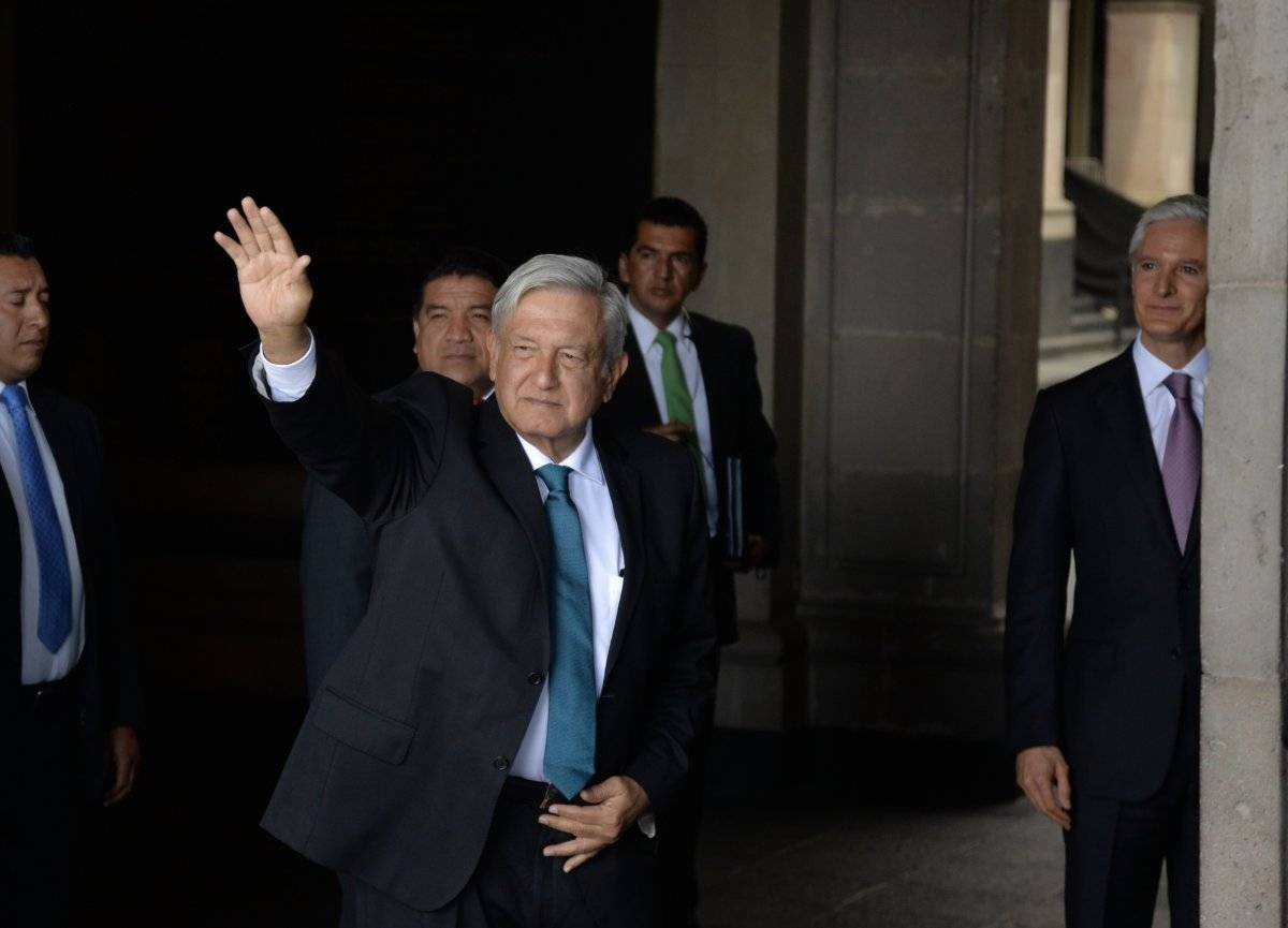 Andrés Manuel López Obrador, presidente electo Foto: Cuartoscuro