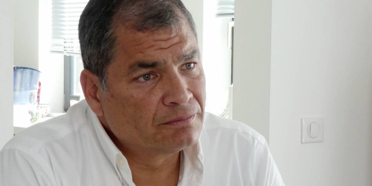 Llaman a juicio al ex presidente ecuatoriano  Rafael Correa por el secuestro de un opositor