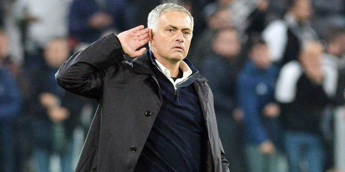 Mourinho justificó su provocativo y criticado gesto tras la agónica victoria del United ante Juventus