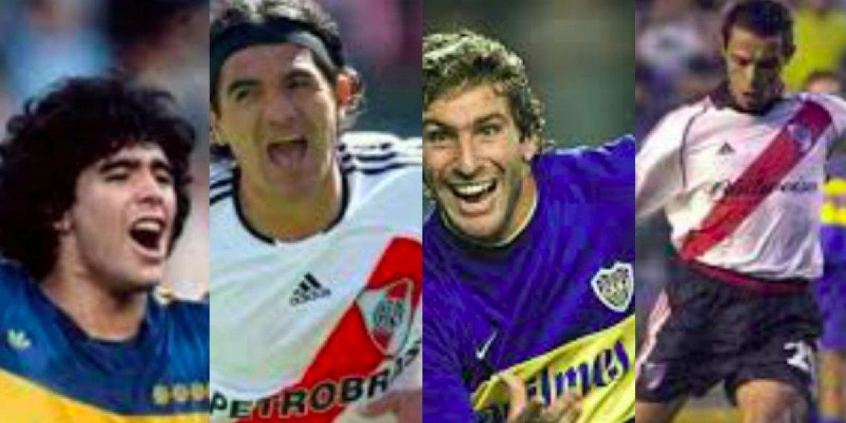 Los 10 mejores goles del Superclásico argentino entre Boca Juniors y River Plate