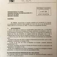 España da luz verde para la extradición de exsecretario de la Senain