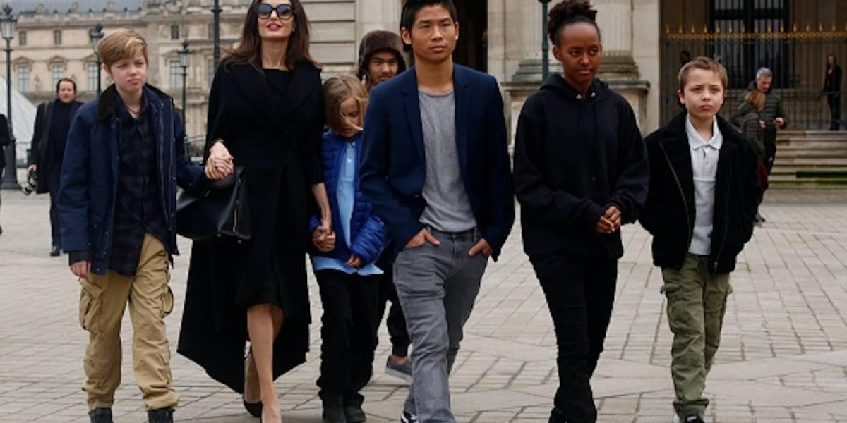 Brad Pitt o Angelina Jolie ¿Quién se quedará con los hijos?