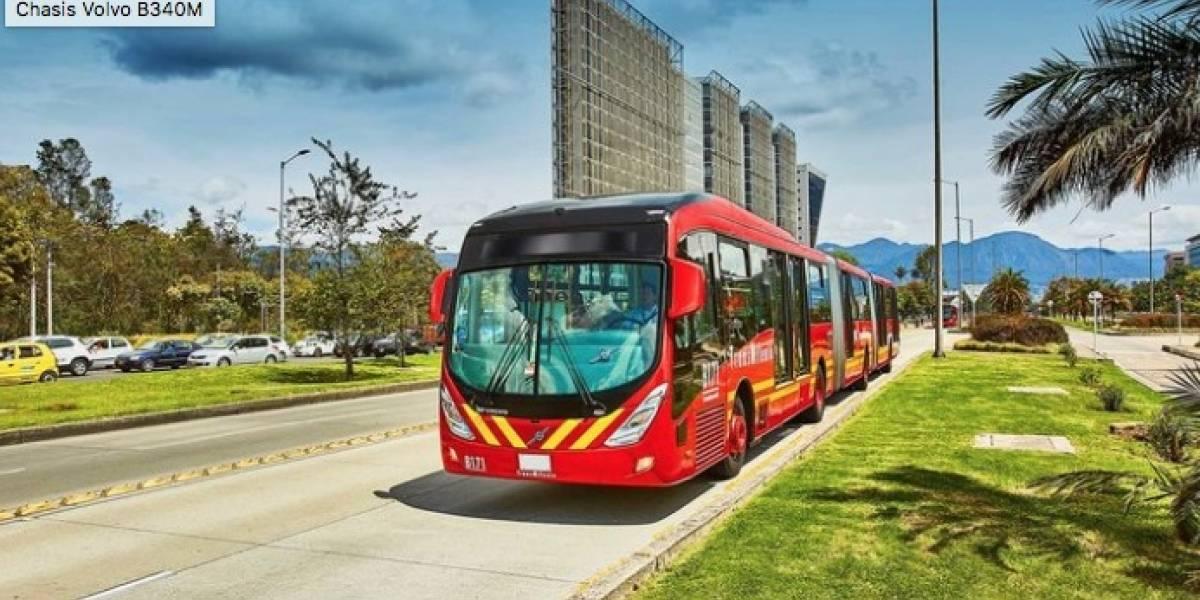 Volvo celebra que el pedido más grande de buses en América Latina lo hizo Bogotá
