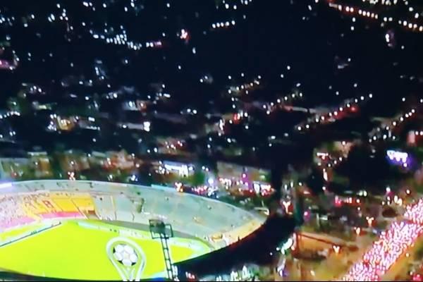 Caos en Bogotá impide a hinchas llegar al estadio