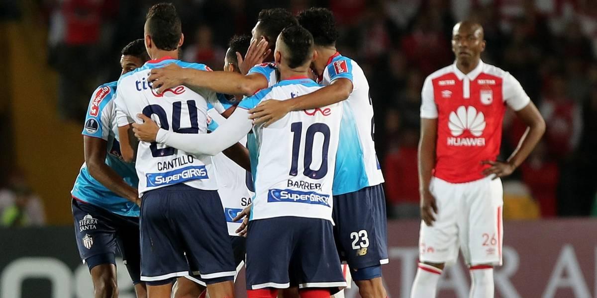 ¡Caos en Bogotá! Independiente Santa Fe perdió en Copa Sudamericana