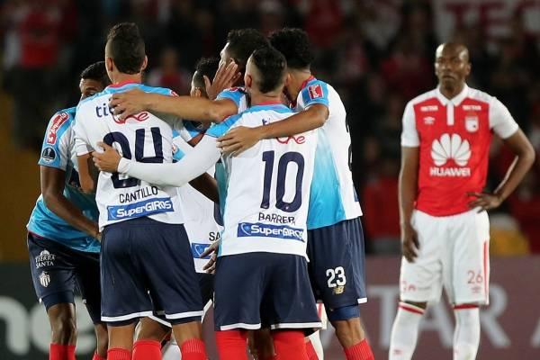 Video de los goles de Santa Fe contra Junior