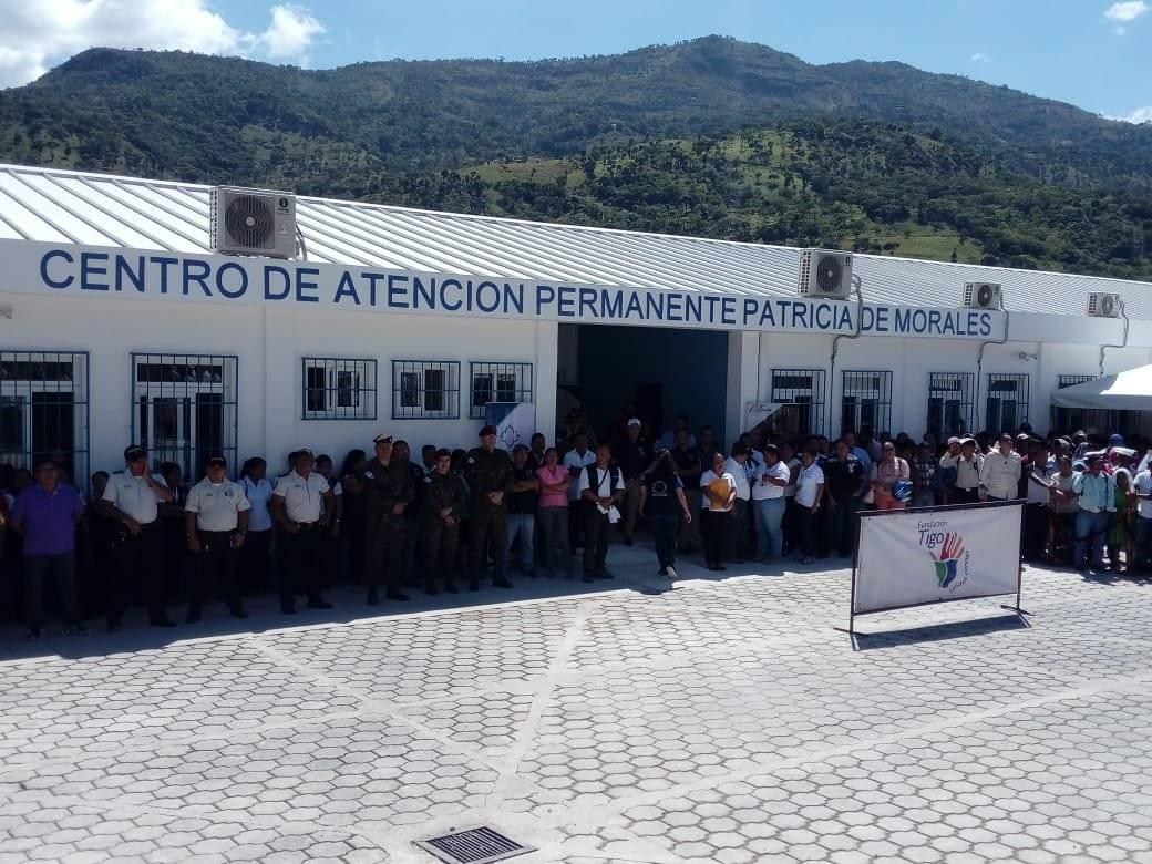 centro de salud Patricia de Morales en Chiquimula