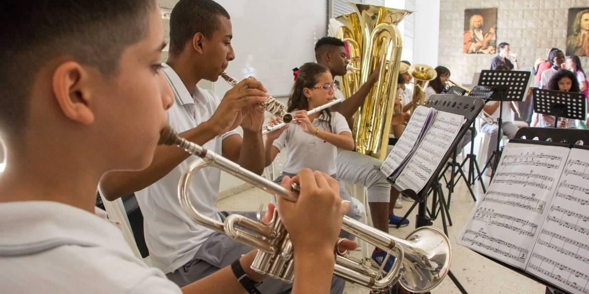 Mozart y Beethoven en el oriente de Cali: así suena la Escuela de Música Desepaz