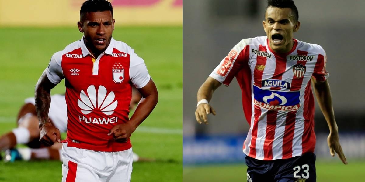 Santa Fe vs. Junior: ¿Quién pegará primero en la ida de Sudamericana?