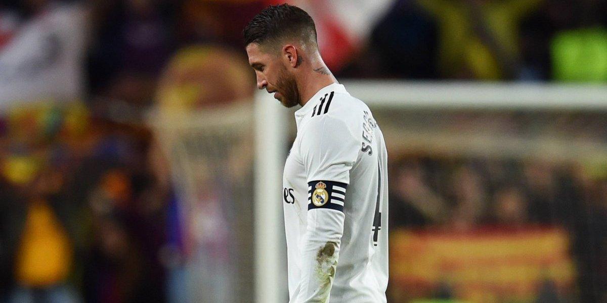 Sergio Ramos se disculpa con jugador del Viktoria tras lesionarlo