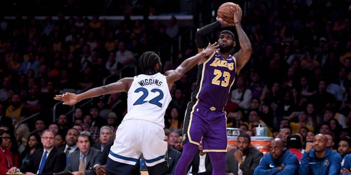 LeBron James lidera la gran racha positiva de los Lakers en la NBA