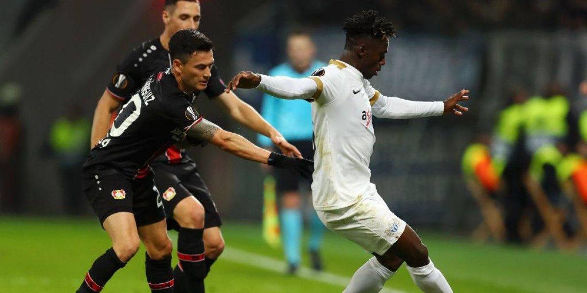 Con un recuperado Charles Aránguiz de titular el Bayer Leverkusen ganó en la Europa League