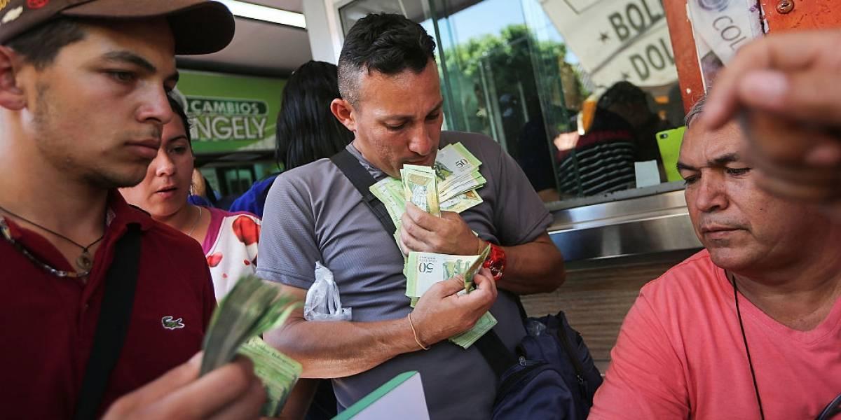 Reportan 800.000% la inflación de 12 meses en Venezuela