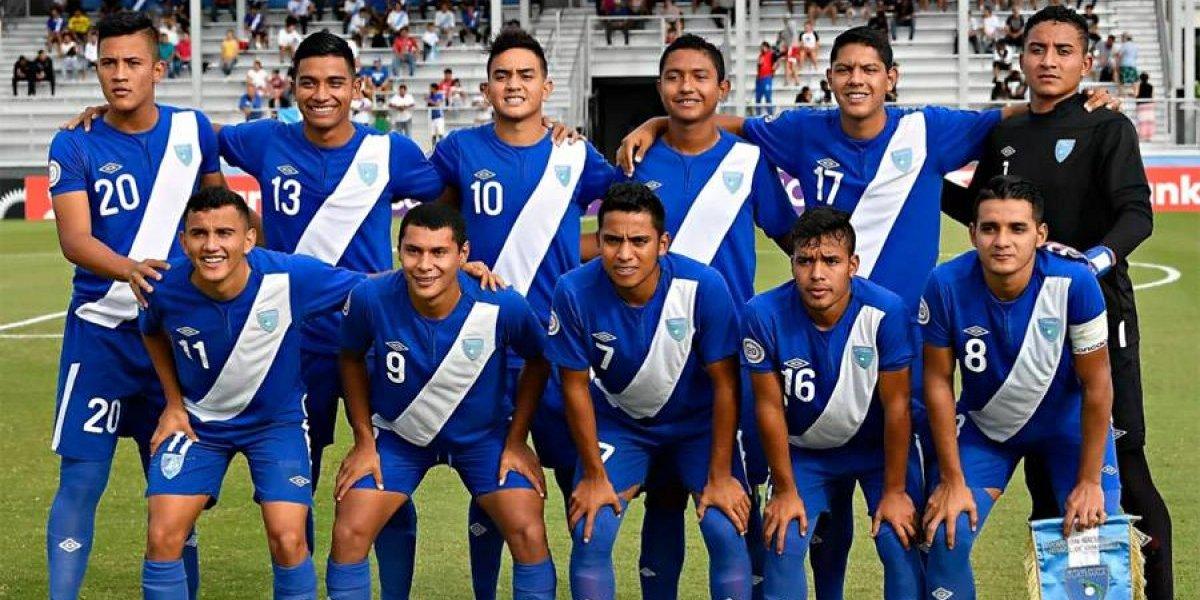 Guatemala queda al margen en el Premundial Sub-20 de Concacaf