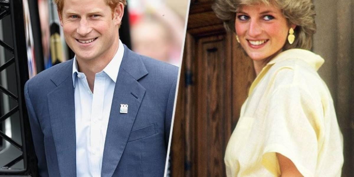 Como dos gotas de agua: El gesto de Harry que hizo recordar a la princesa Diana