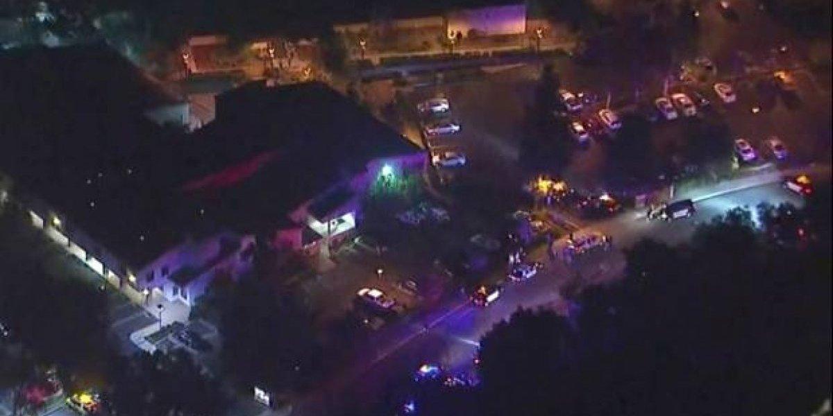Reportan tiroteo en bar de California