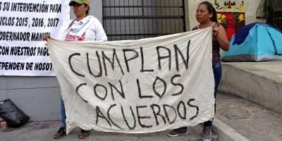 Termina paro magisterial en Chiapas