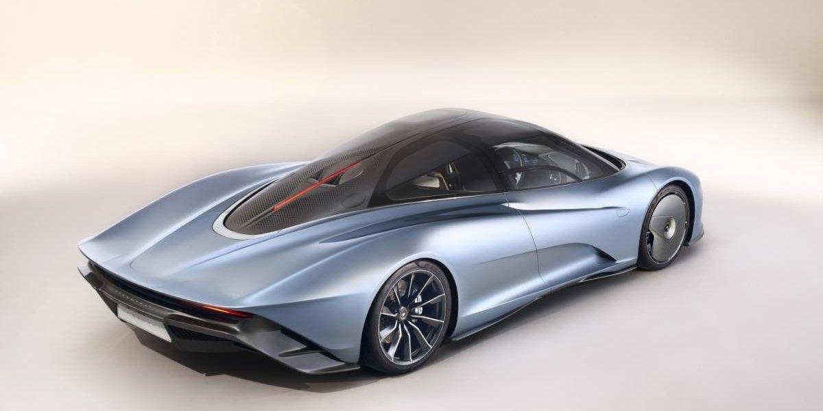 McLaren Speedtail, la combinación perfecta en un GT