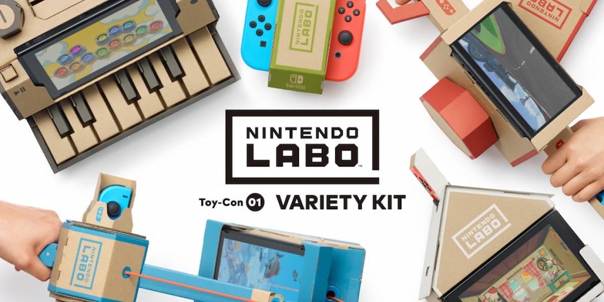México: Jugamos con Nintendo Labo y ésta fue nuestra experiencia