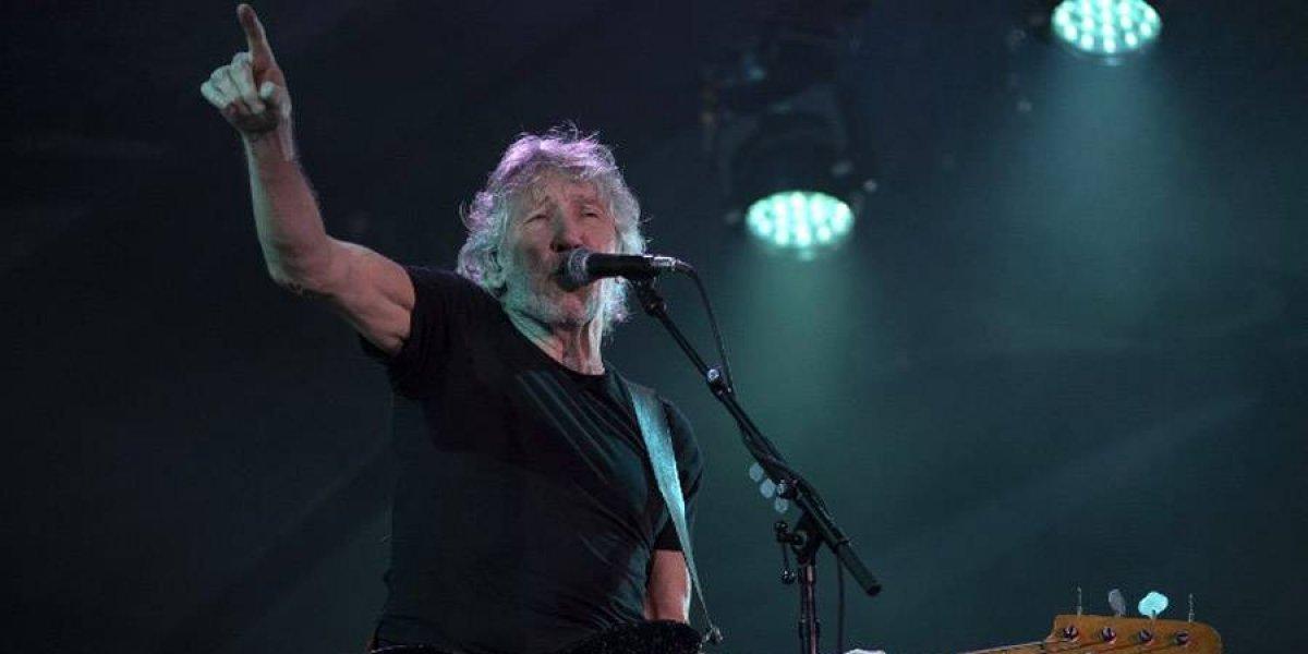 Distinguen a roquero Roger Waters en Argentina por labor humanitaria