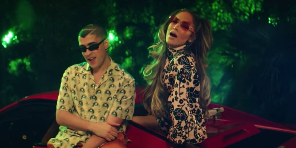 Jennifer López estrena vídeo musical junto a Bad Bunny