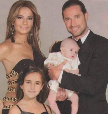 Sebastián Rulli, Cecilia Galliano y su hijo