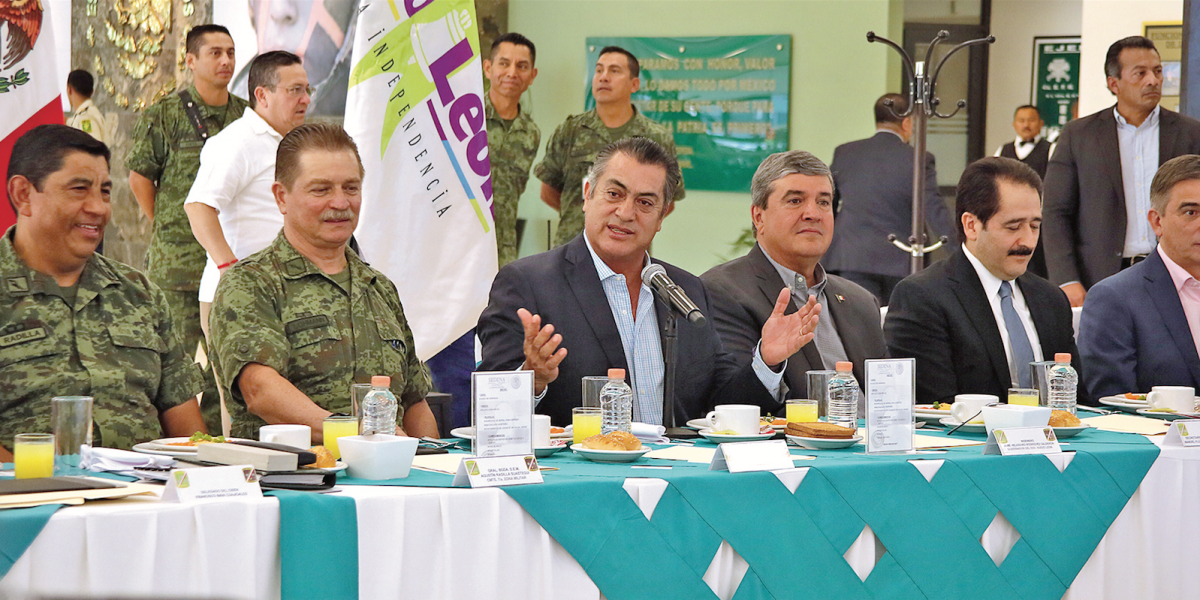Alistan pruebas de control y confianza a mandos policiales para seguridad de Nuevo León