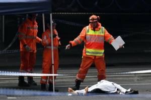 Una de las víctimas del atacante en Melbourne, Austrialia