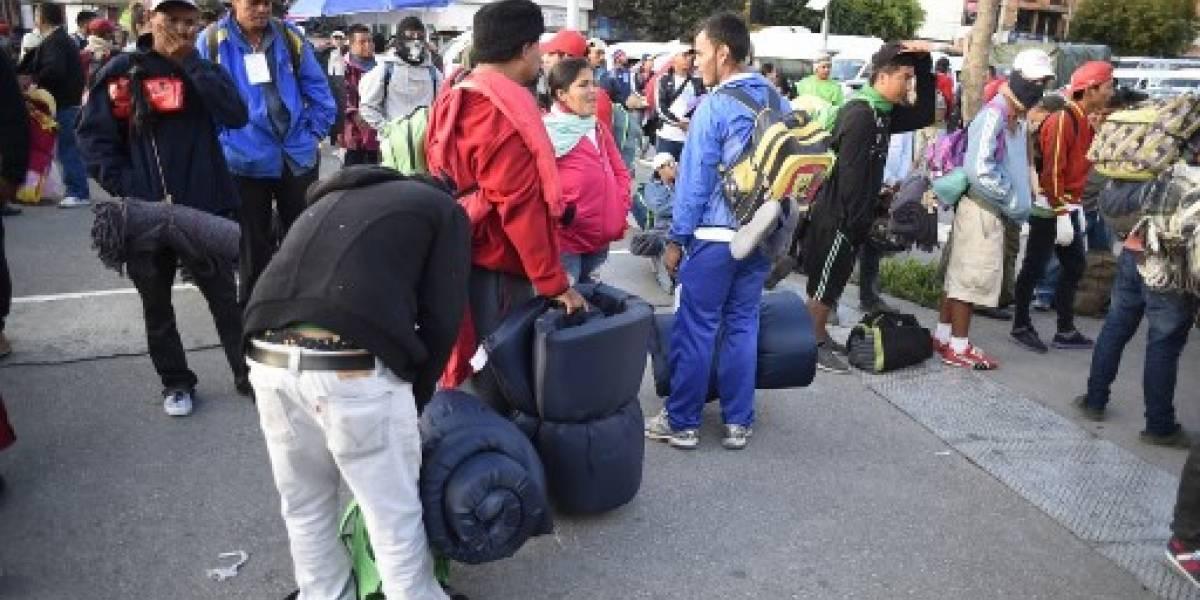Caravana migrante se fragmenta; cientos salen de Ciudad de México hacia EEUU