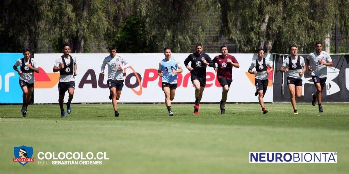 Colo Colo madruga para capear el calor de Santiago y los jugadores tendrán libre todo el fin de semana