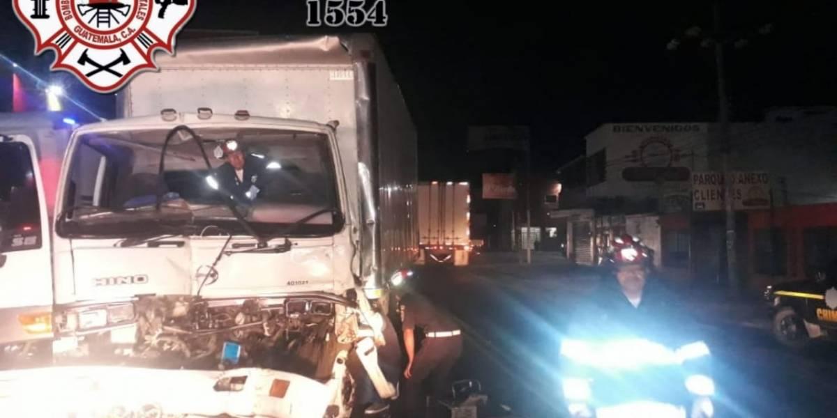 Un muerto y un herido tras accidente de tránsito en ruta Interamericana